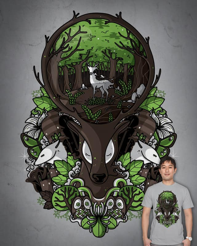 Spirit of the forest by Recycledwax on Threadless