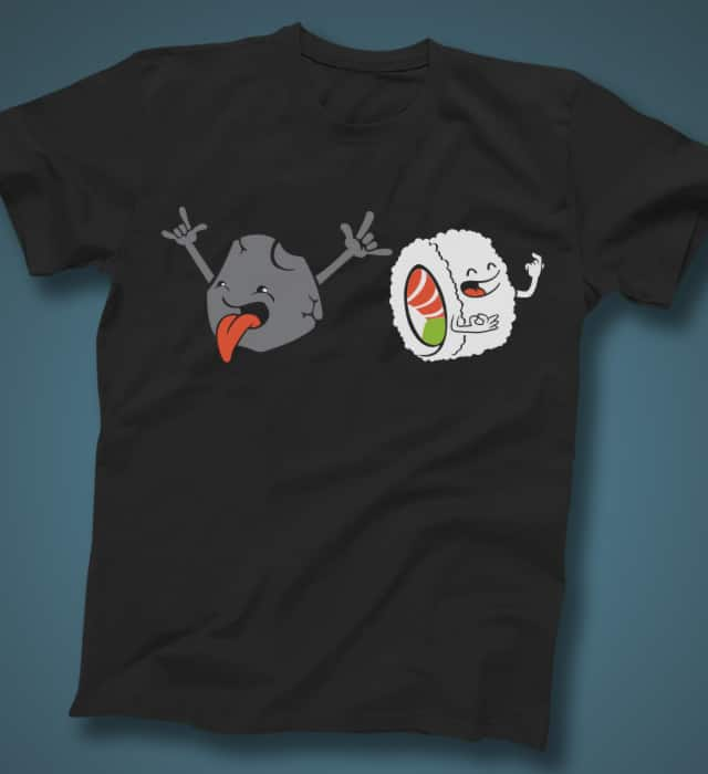 Rock & Roll by italiux on Threadless