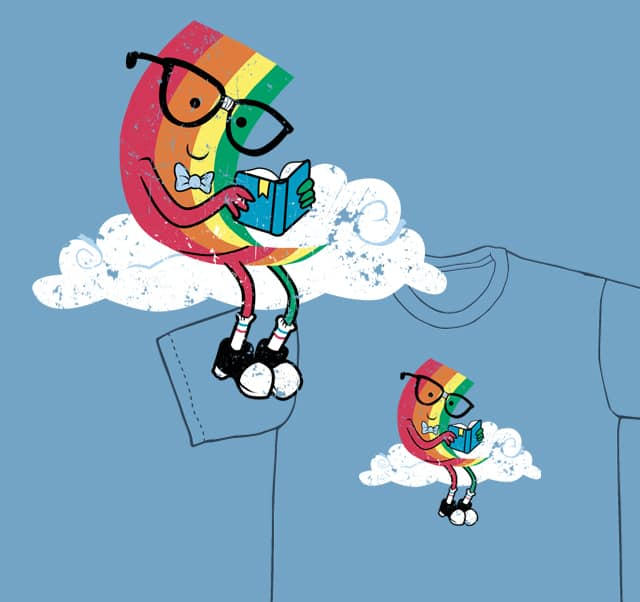 Reading Rainbow by sponzar on Threadless