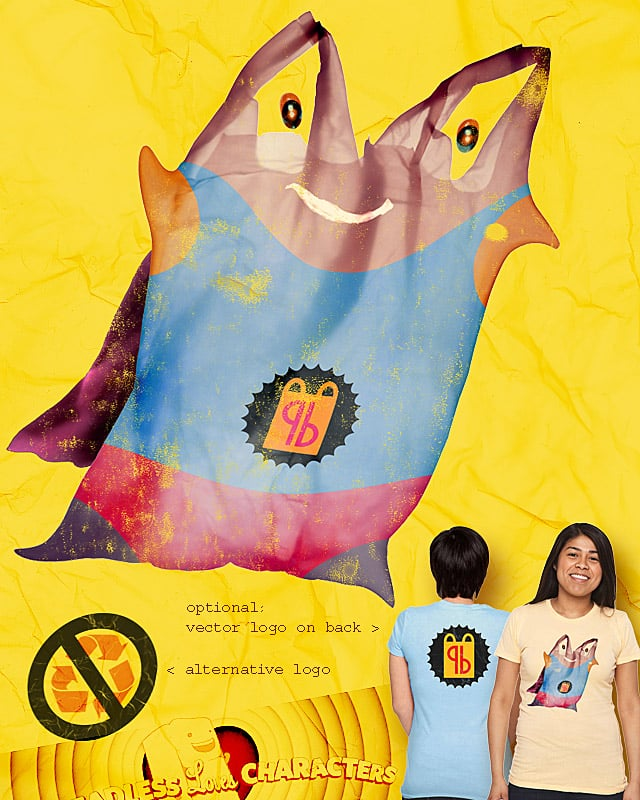 It's... Plasticbagman! by Manupix on Threadless