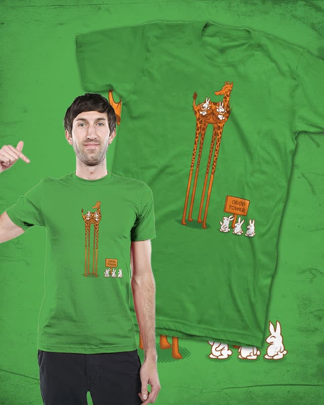Drop Tower by Wilfur on Threadless