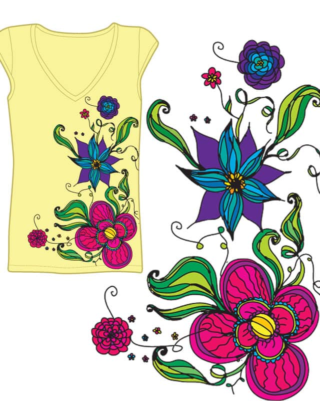 May Flowers by ashg on Threadless