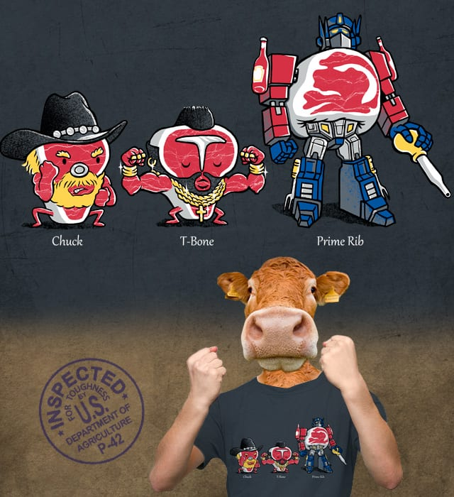 The Toughest Cuts of Meat by herky on Threadless