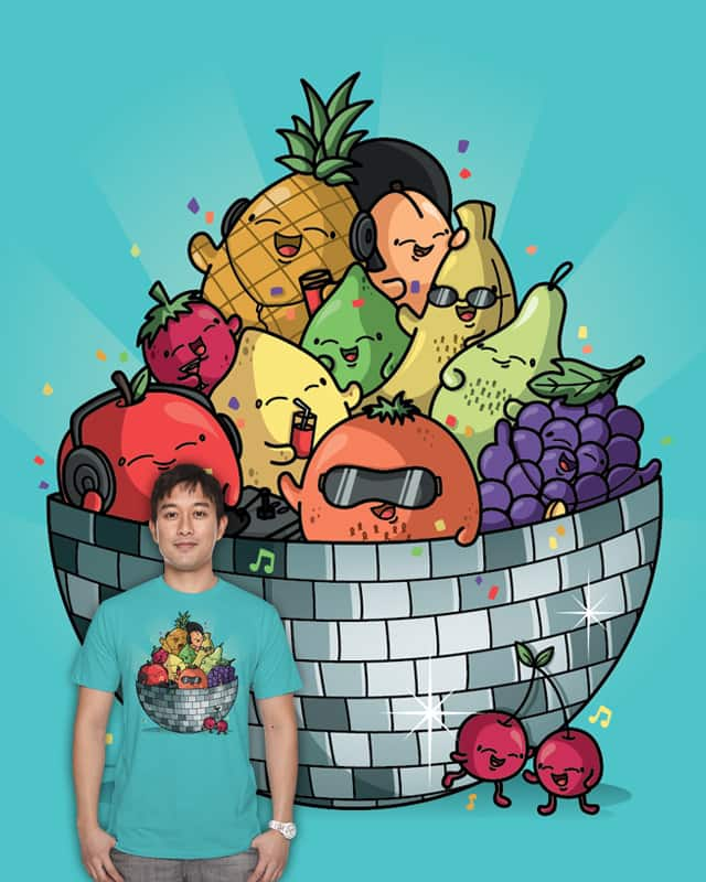 Disco Bowl by Recycledwax on Threadless