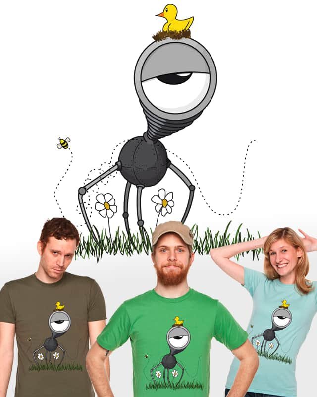 Nature n Tech by andru.h on Threadless