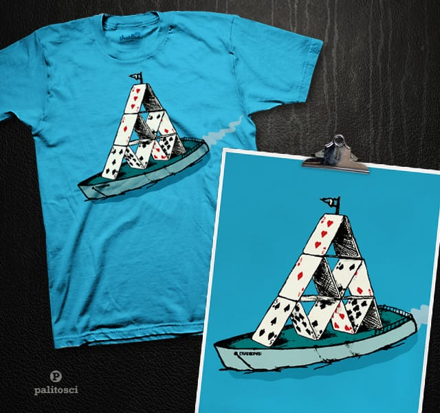Card Boat by palitosci on Threadless