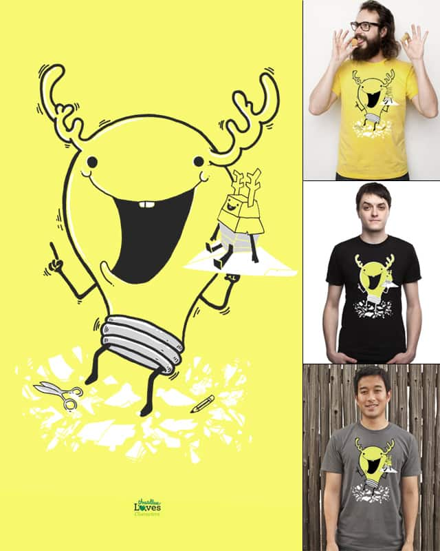 Mr.i-DEER by anwarrafiee on Threadless