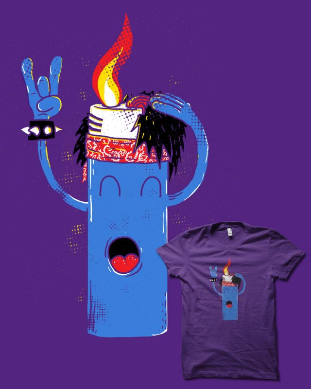 Flame On by biotwist on Threadless