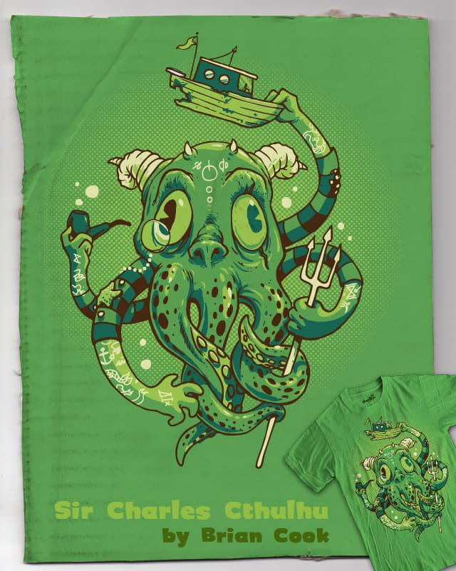 Sir Charles Cthulhu by briancook on Threadless