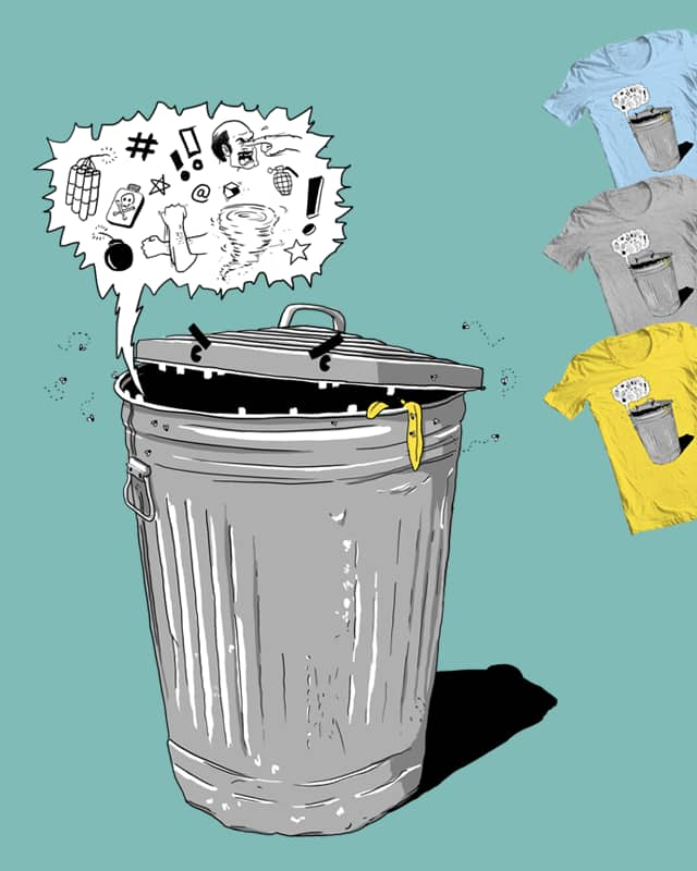Trash Talking by kaloyster on Threadless