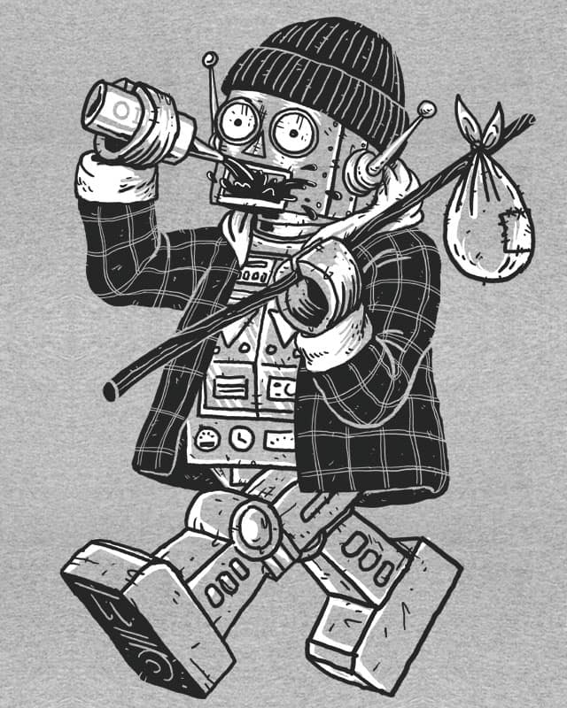 Robo Hobo by alanis on Threadless