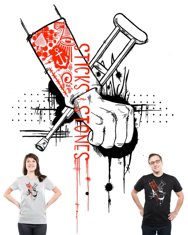 Sticks and Stones by Bexter316 on Threadless