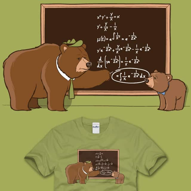 Smarter than the average bear by Ian-S on Threadless