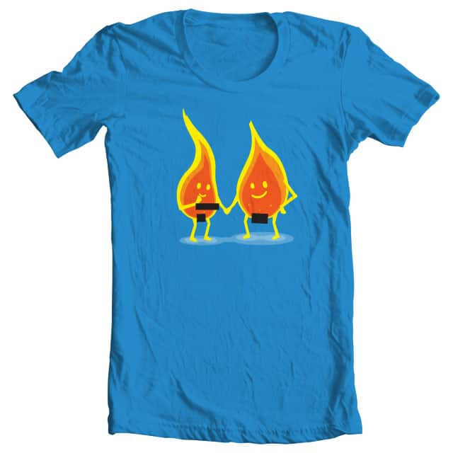 Naked Flames by SEVEN-HUNDRED on Threadless