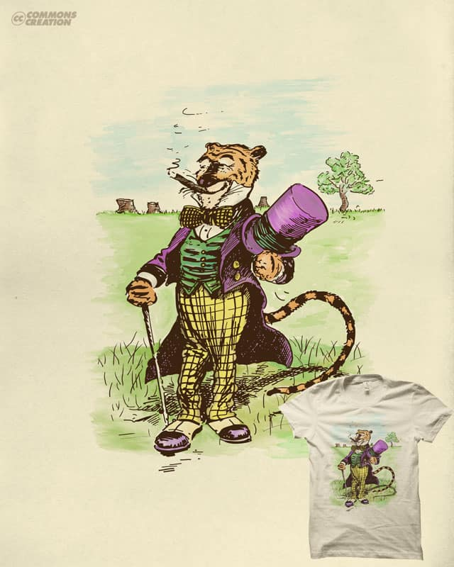 100 acre fat cat by quick-brown-fox on Threadless
