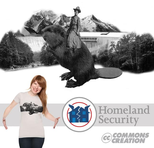 Homeland Security by craquehaus on Threadless