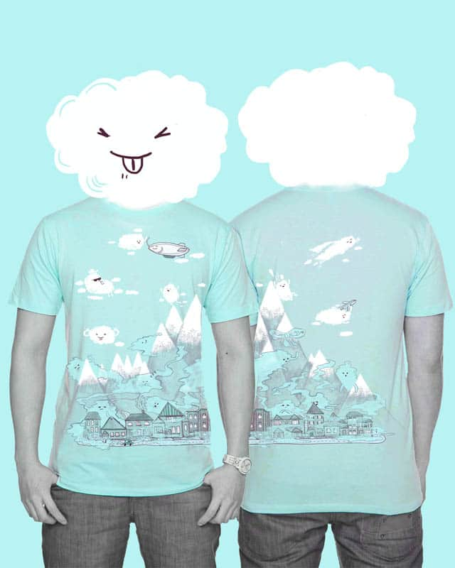 Clouds are Jerks by nicholelillian on Threadless