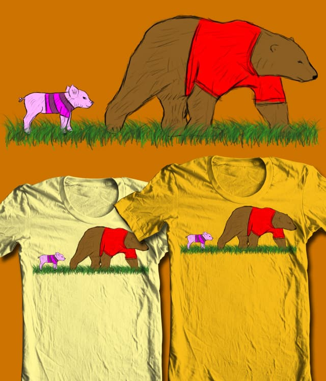 hundred acre woods by boxless on Threadless