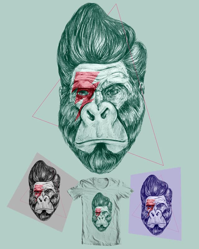 The primate who rocked 2.0 by StevenRice on Threadless