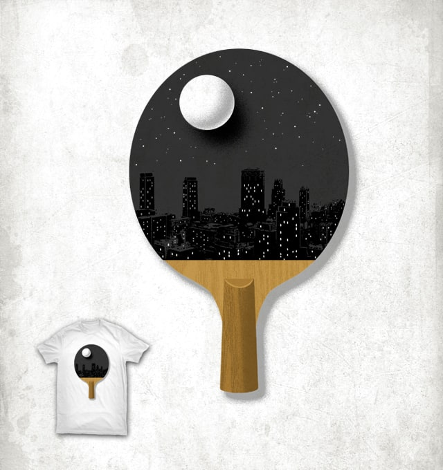 Ping Pong Night by ben chen on Threadless