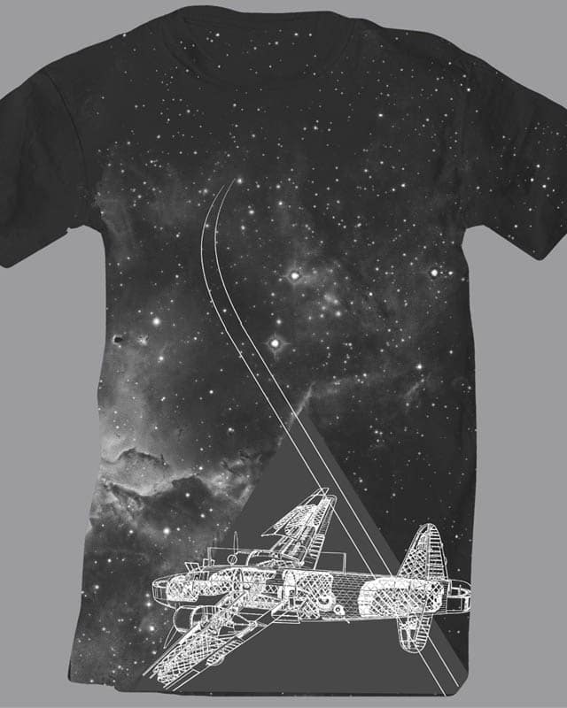 Cosmic Flight by Oiseau83 on Threadless