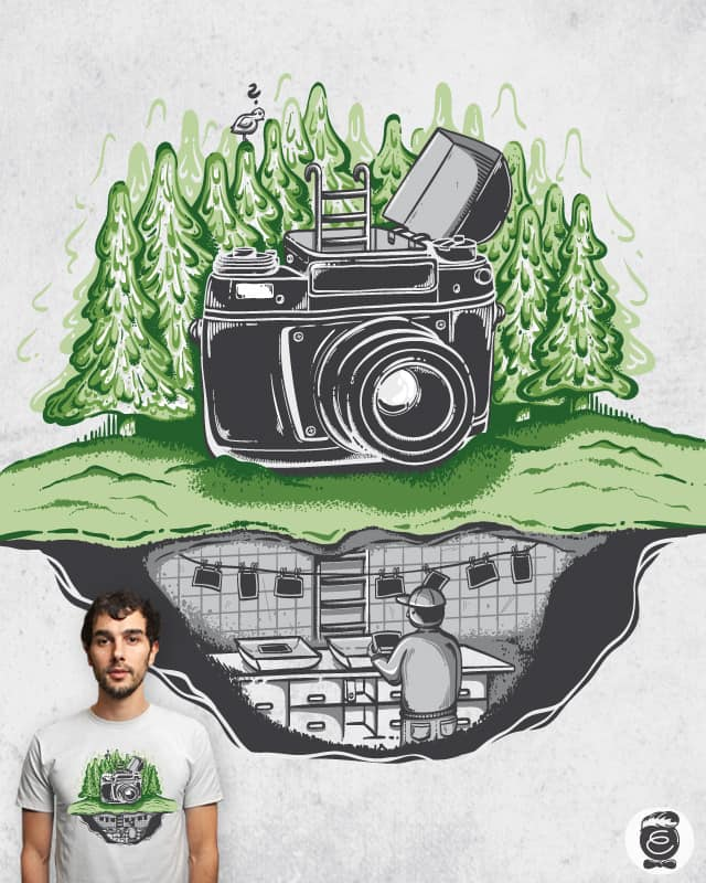 behind the scenes by Robert_Richter on Threadless