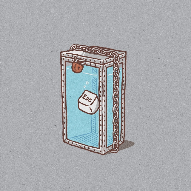 There Is No Escape by jameses.x on Threadless