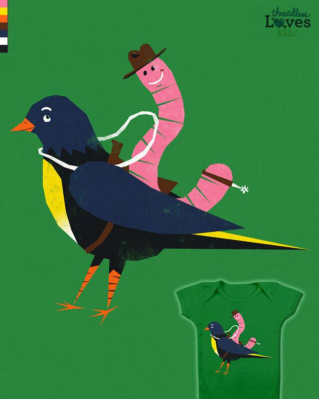 Yeehaa Birdy by HtCRU on Threadless
