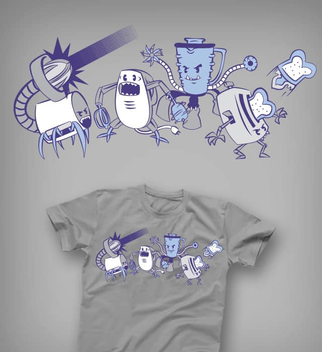 Domesticons, Attack ! ! ! by italiux on Threadless