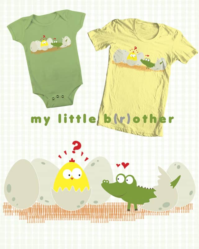 my little b(r)other by fpriscillya on Threadless
