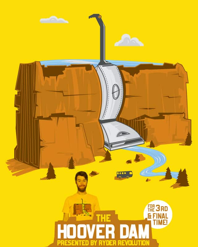 The Hoover Dam by Ryder on Threadless