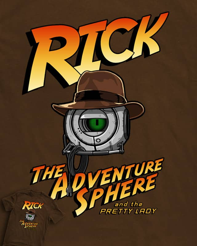 Rick! The Adventure Sphere! by R-evolution GFX on Threadless