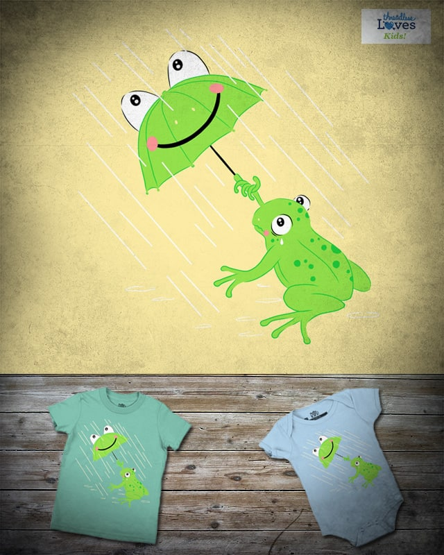 What a frog are for by kooky love on Threadless
