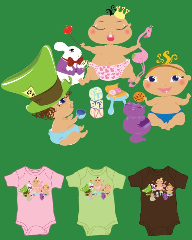 Alice in Babyland by bubbles_utonium on Threadless
