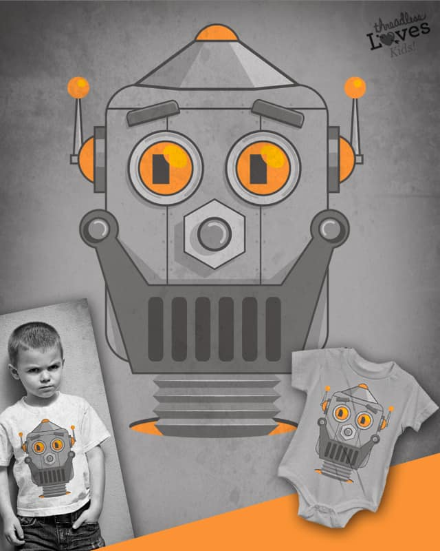 Love my robot by D-maker on Threadless