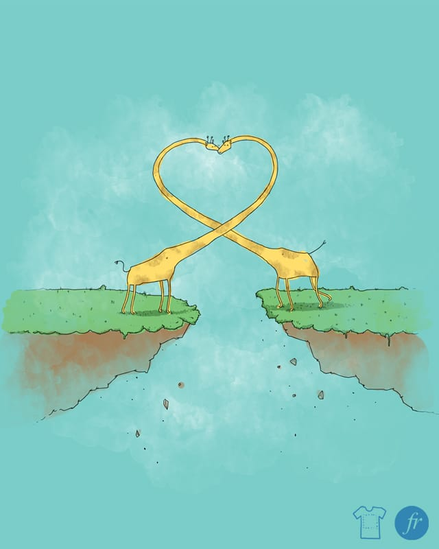 Long Distance Relationship by fuloprichard on Threadless