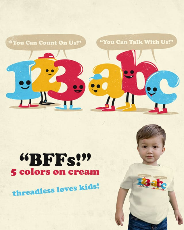 BFFs! by adam antium on Threadless