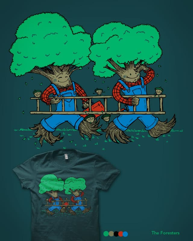 The Foresters by nickv47 on Threadless
