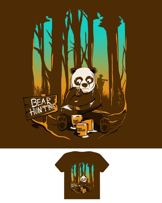 It's time to go all the way Panda by mutzkalalo on Threadless