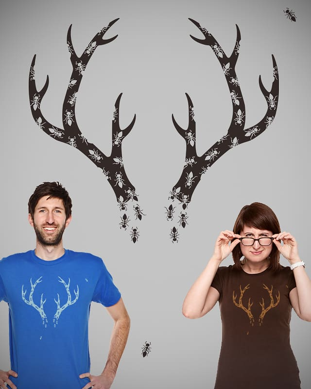 ANTlers by QuietCity on Threadless