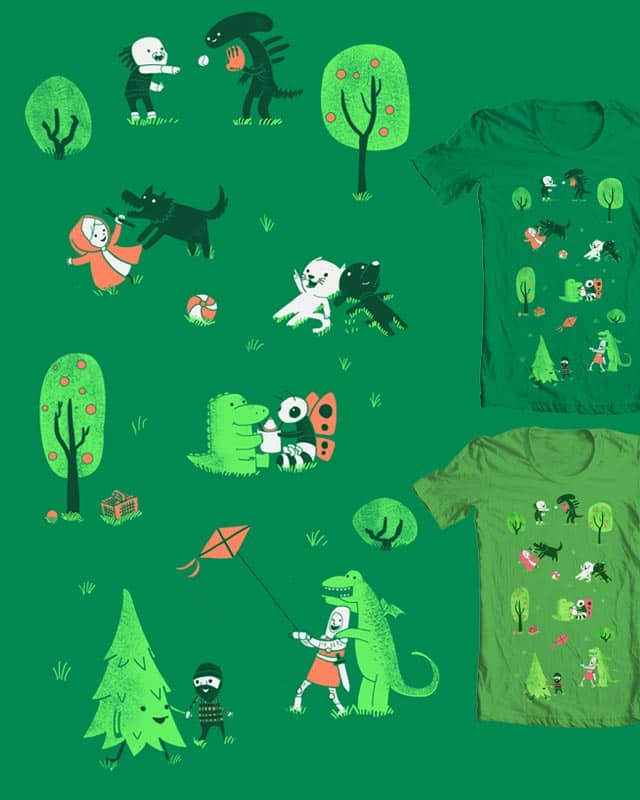 Field of Love by queenmob on Threadless