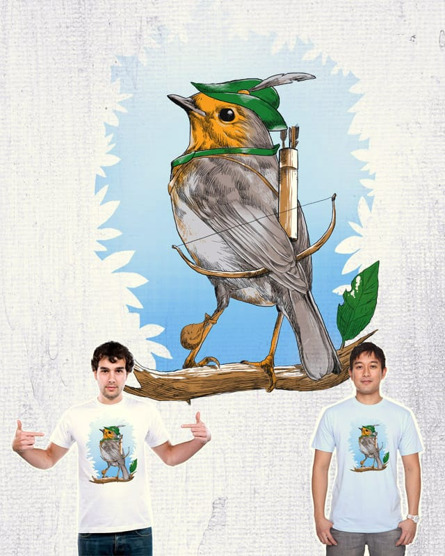 Robin Hood by digitalcarbine on Threadless