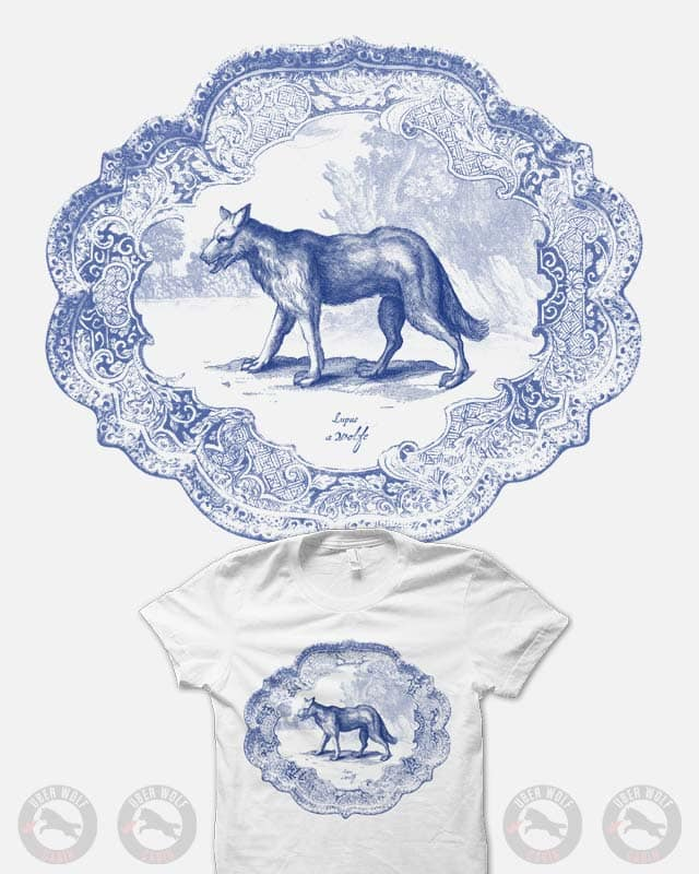 Wolf Ware by quick-brown-fox on Threadless