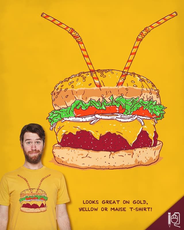 Burger for two by rodrigobhz on Threadless