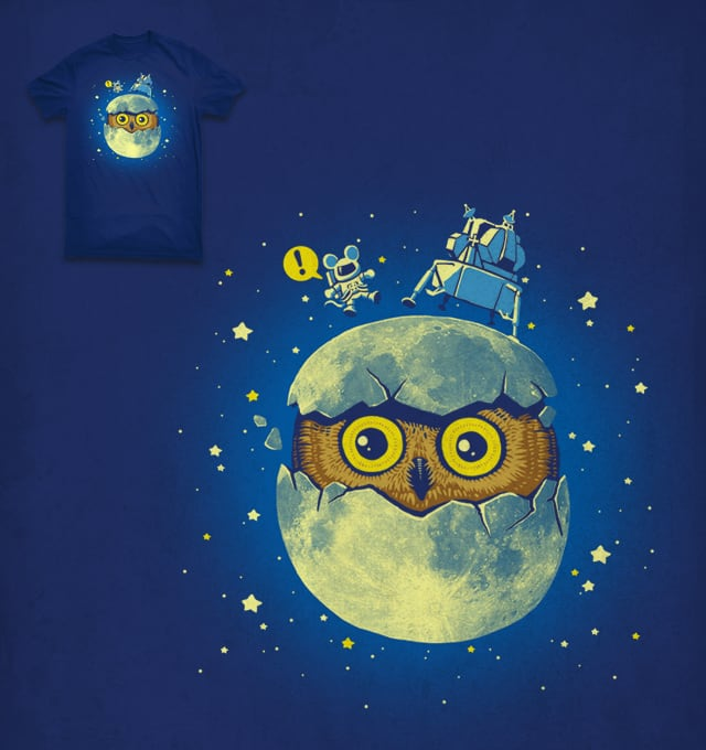 Moon Egg by ben chen on Threadless
