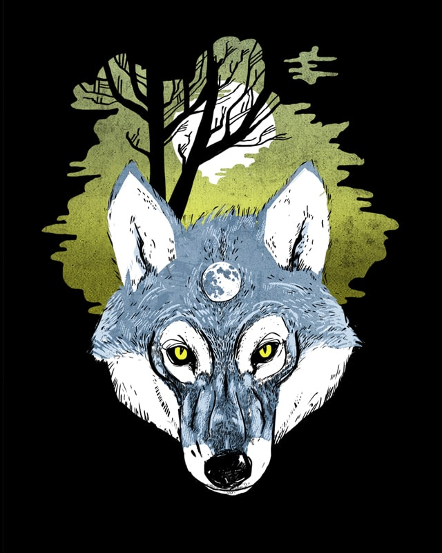 Wolf Phase by jstumpenhorst on Threadless