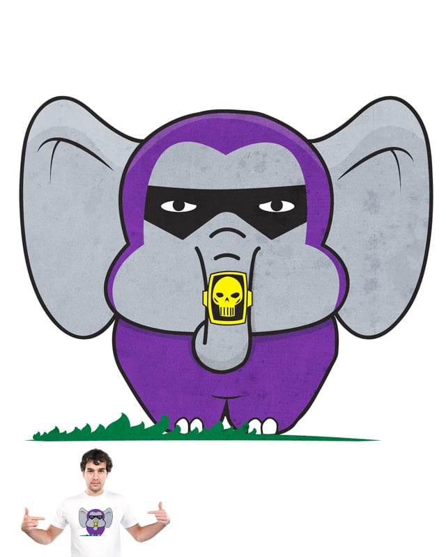 The Elephantom by hAgElBrAkArn on Threadless