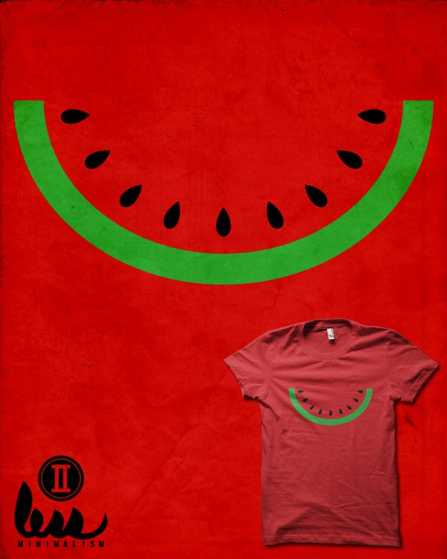 Minimal Melon by biotwist on Threadless