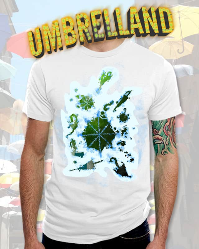 Umbrelland by opippi on Threadless