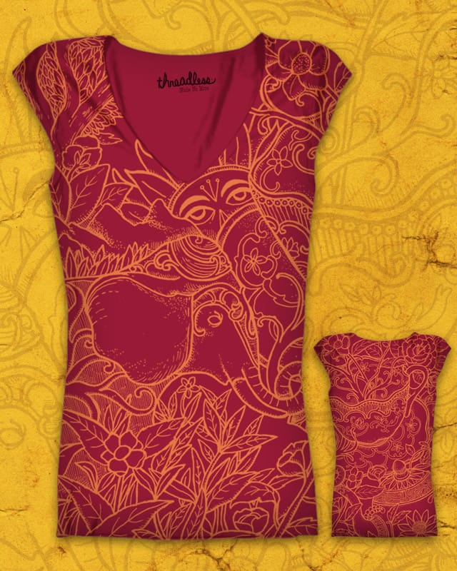 A trip to Darjeeling by alvarejo on Threadless